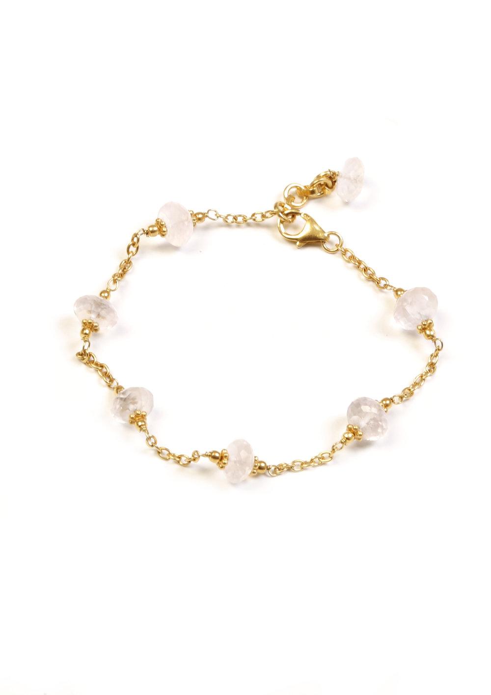 Pink stone bracelet - 28€ NOW 20€