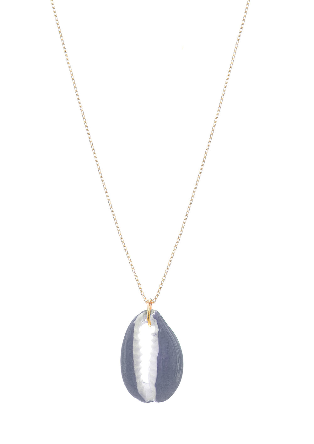Blue shell necklace - 28€