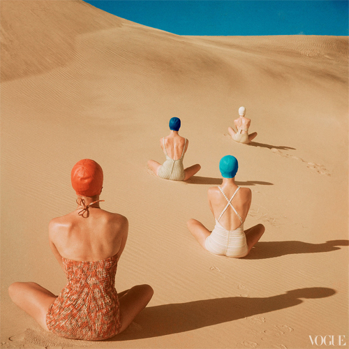Photo: Clifford Coffin (Vogue, June 1949)