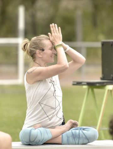Photo: Laurence Gay Yoga