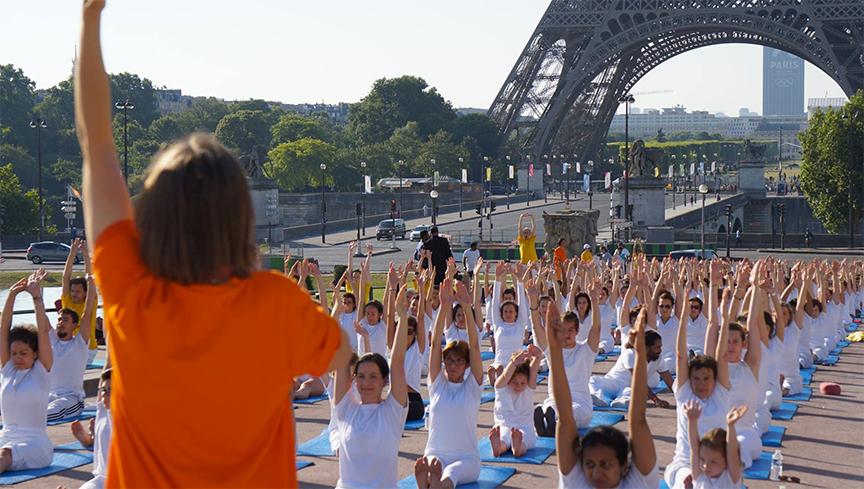 Photo: Centre de Yoga Sivananda de Paris