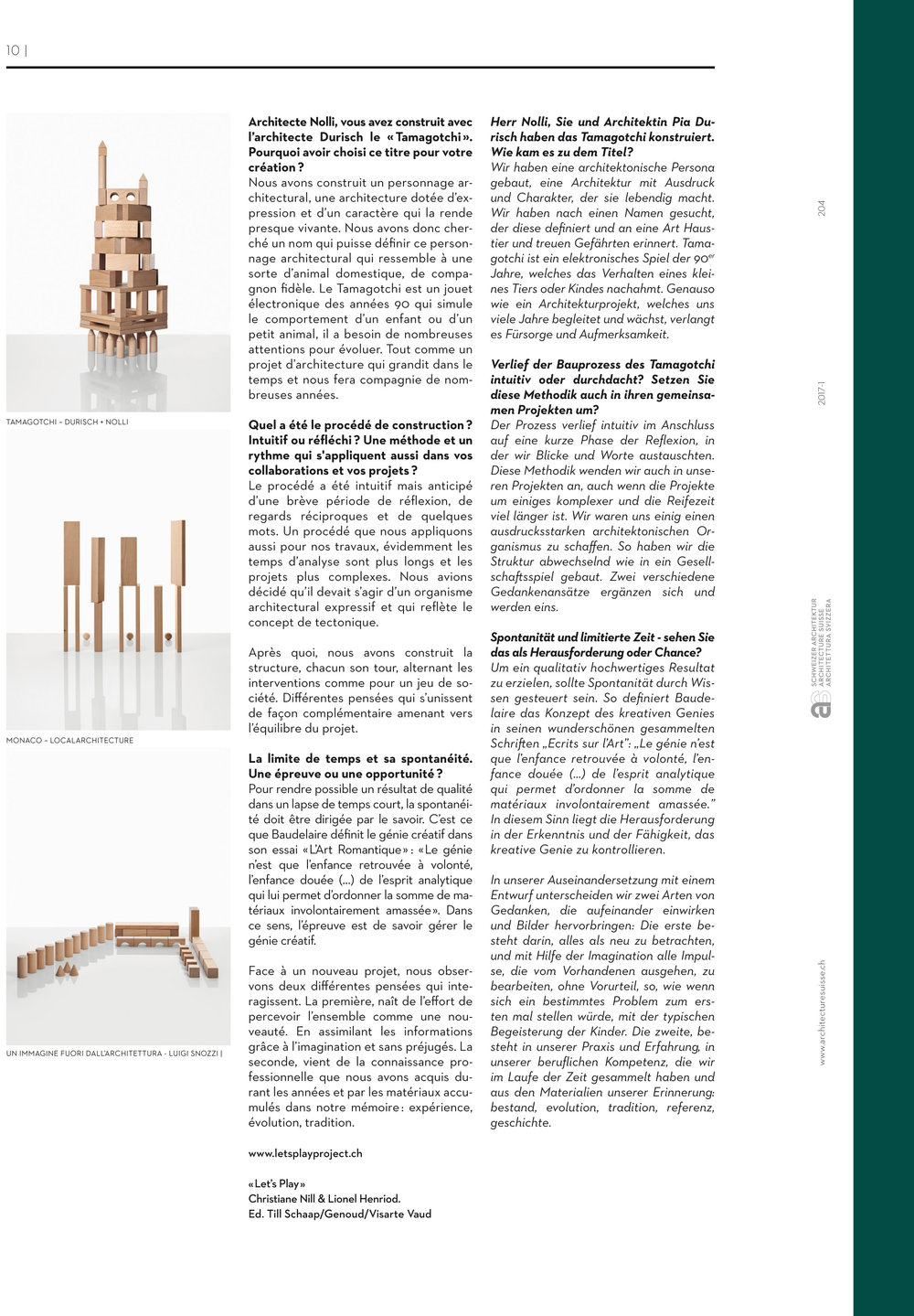 Check it out www.architecturesuisse.ch