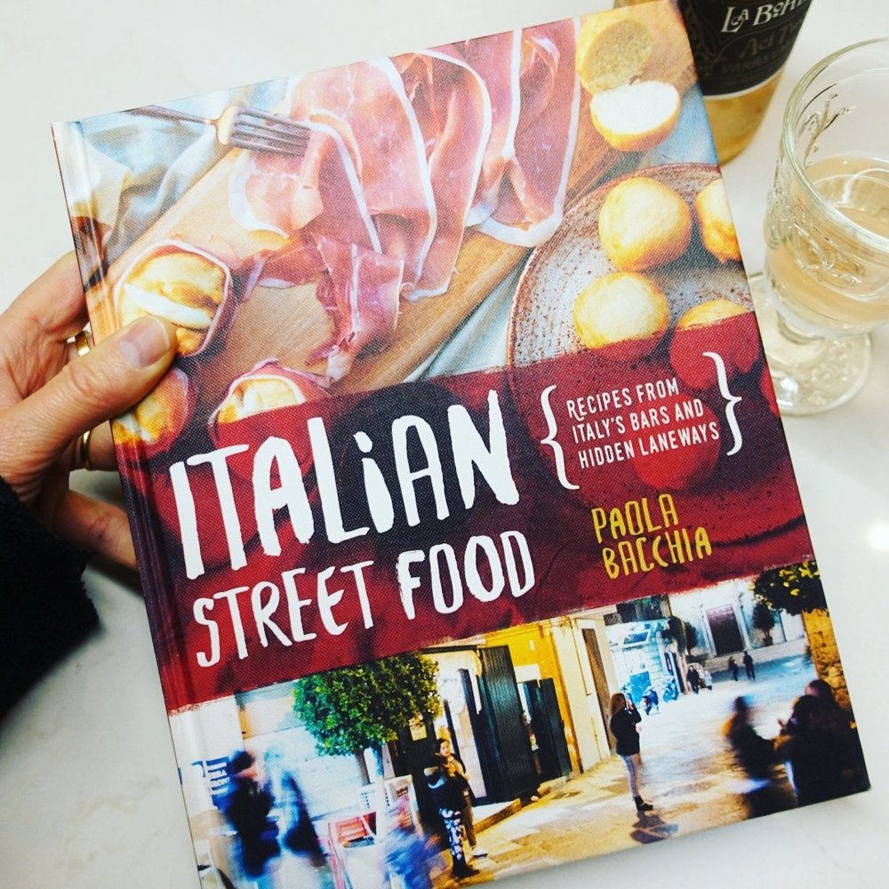 Paola's book:  Italian Street Food