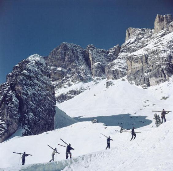 Image: Cortina d'Ampezzo by Slim Aarons