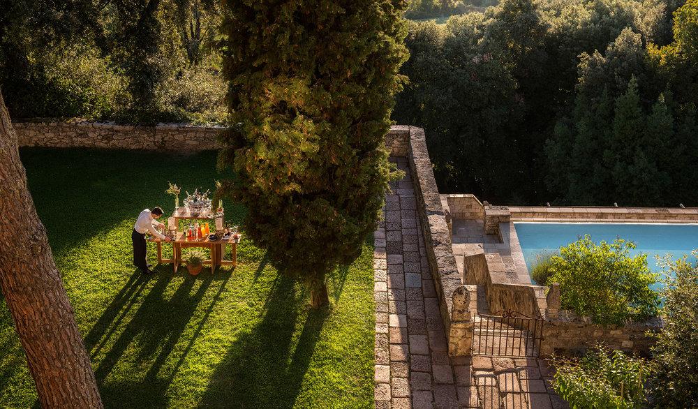 Images:  Borgo Pignano