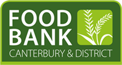 Canterbury Food Bank supported by Riverside