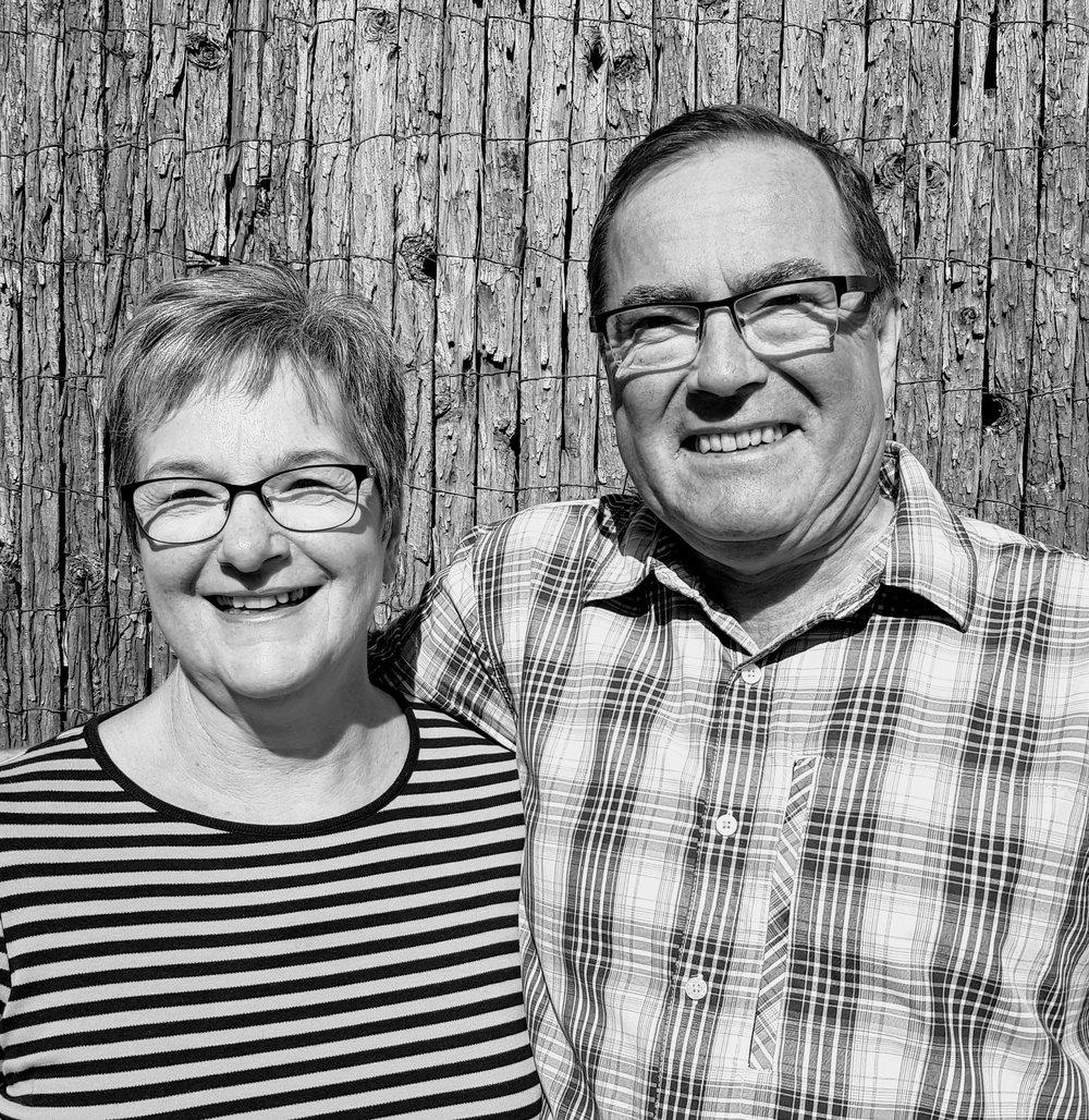 Alison & Alan Chalkley  Senior Leaders