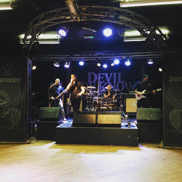 Soundcheck // Tour with @devilyouknowofficial, @theoniband & @brutaiband starts here tonight!