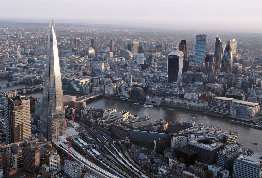 Congested Area - London, also a place where most hobbyist and commercial pilots cannot fly near.