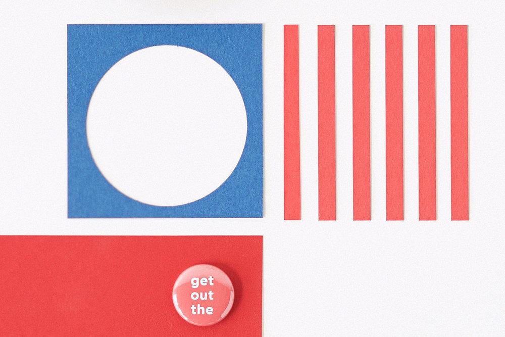 Studio of Christine Wisnieski | AIGA Get Out The Vote