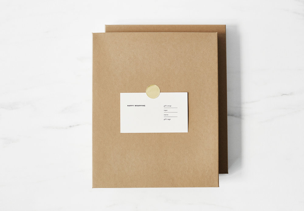 Studio of Christine Wisnieski | Gift Wrap
