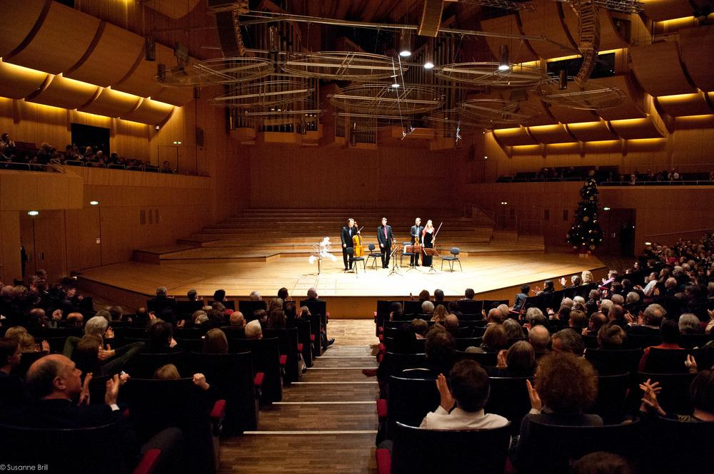 20th anniversary concert of the Henschel Quartet at Philharmonie München