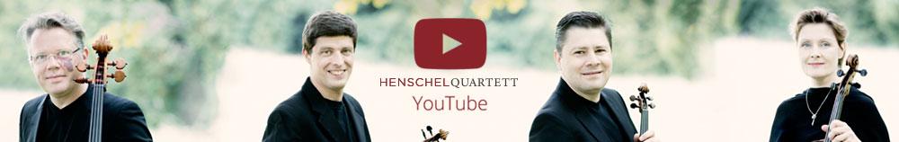 Besuchen Sie unseren Youtube Channel: www.youtube.com/user/henschelquartett
