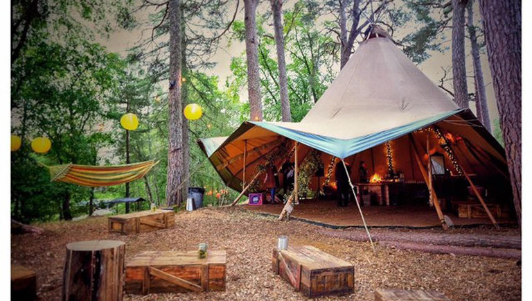 ALL CEREMONIES, PRACTICES & ACTIVITIES WILL TAKE PLACE IN THE SUMMER TIPI