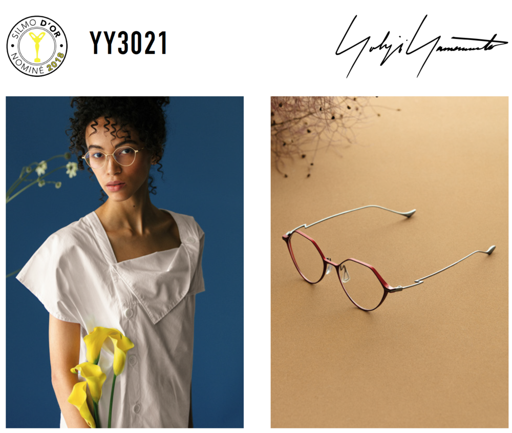 We are delighted to announce the nomination of YY3021 in the Optical Category, SILMO D'OR 2018.