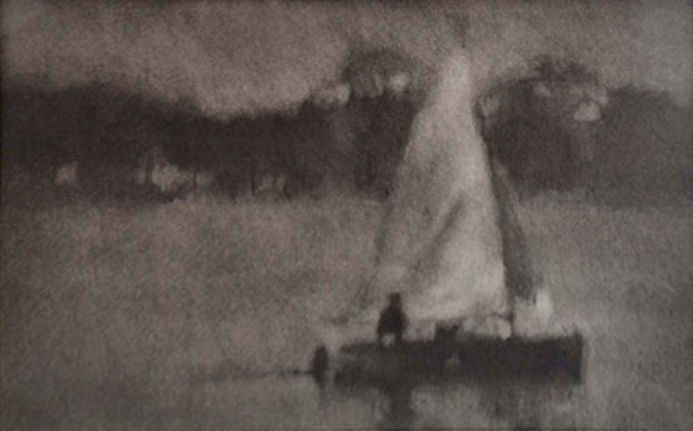Artist: Anne Magill  Title: By Moonlight  Medium: Charcoal on paper  Size: 20 x 30 cm  Price: £2000