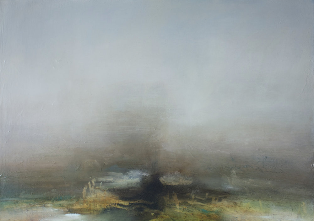 Title: Running Tide Size: 60 x 85 cm Medium: Oil on linen Price: £5500 * Please contact the gallery for availability