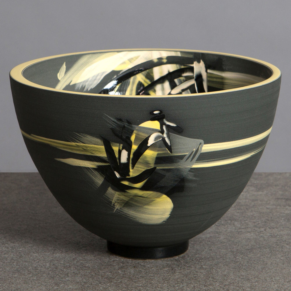 Title: Above The Stars Bowl Size: H 13cm x W 18cm x D 18cm Medium: Ceramic
