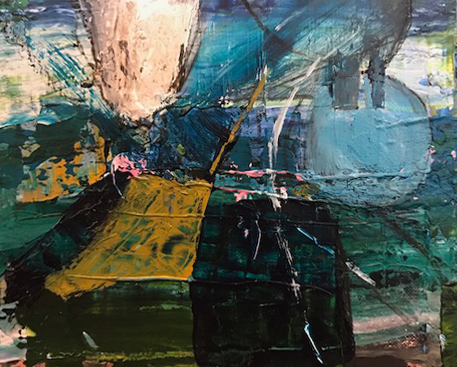Artist: Charlie Day  Title: Sheringham Harbour  Size: 12 x 15 cm  Medium: Oil on board  Price: £350