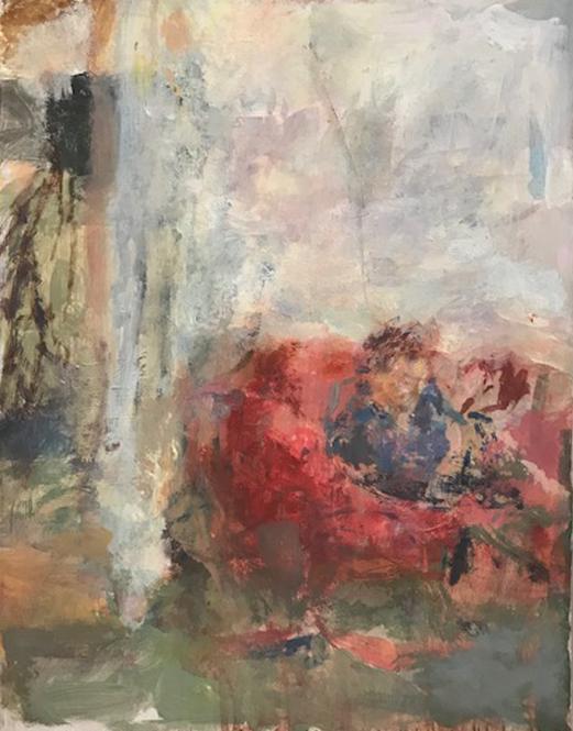 Artist: Anja Niedring  Title: Interior  Size: 31 x 24.5 cm  Price: SOLD