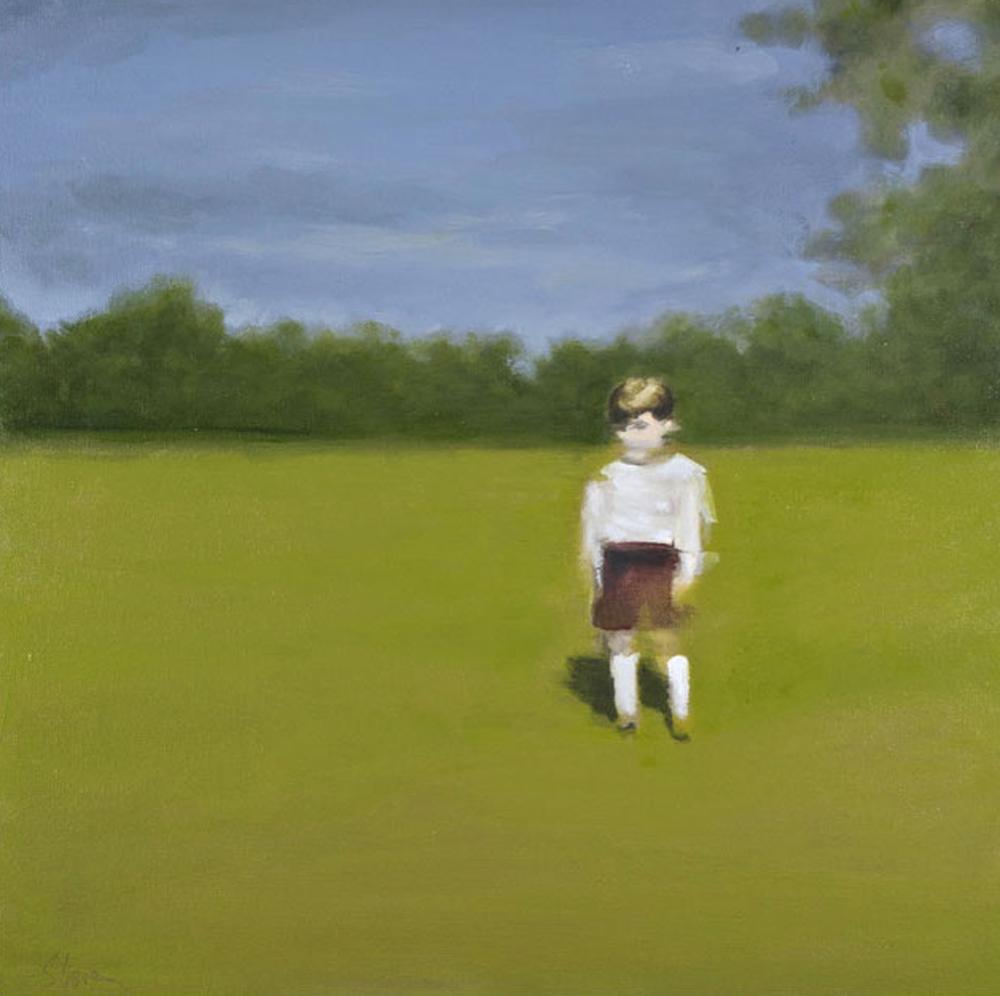 Artist: David Storey  Title: Somewhere Else  Size: 50 x 50 cm  Medium: Oil on canvas  Price: £2200