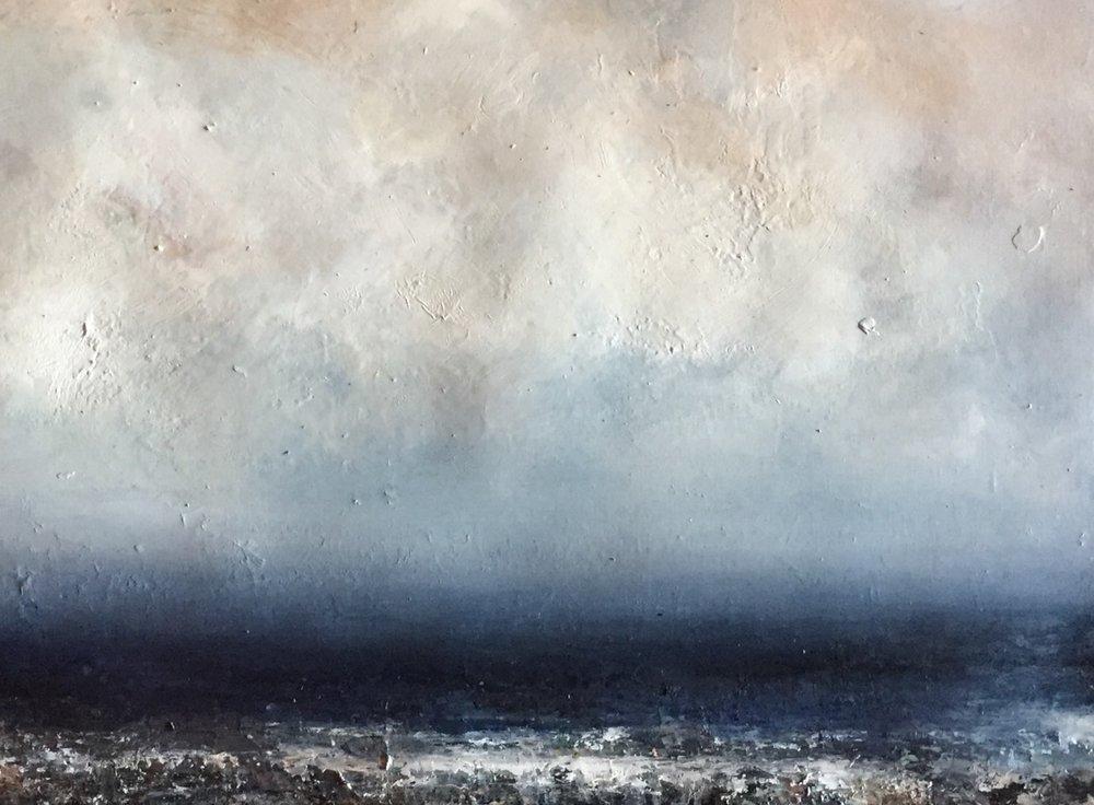 Artist: Hannah Ludnow  Title: Peace  Size: 80 x 100 cm  Medium: Oil on paper  Price: £1350