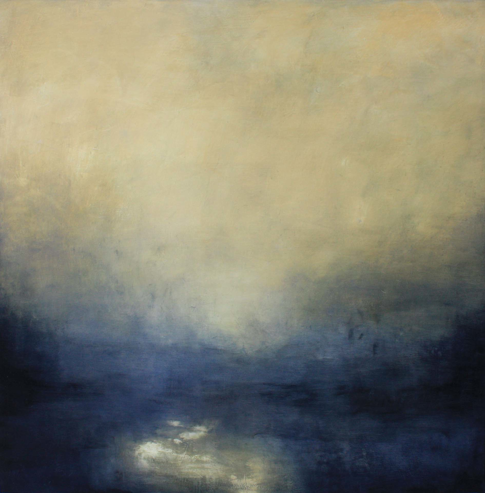 Artist: Victoria Graimes  Title: Illuminate  Size: 130 x 130 cm  Medium: Oil on canvas  Price: £4000