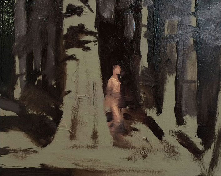 Artist: David Storey  Title: The Edge Of The Night  Size: 30 x 40 cm  Medium: Oil on canvas  Price: £900