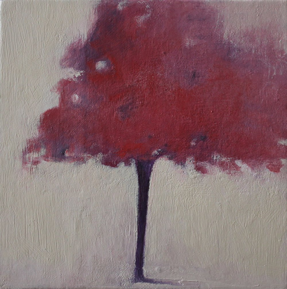 Title: Blossom Tree (II)  Size: 15 x 15 cm  Medium: Oil on canvas panel  Price: £260