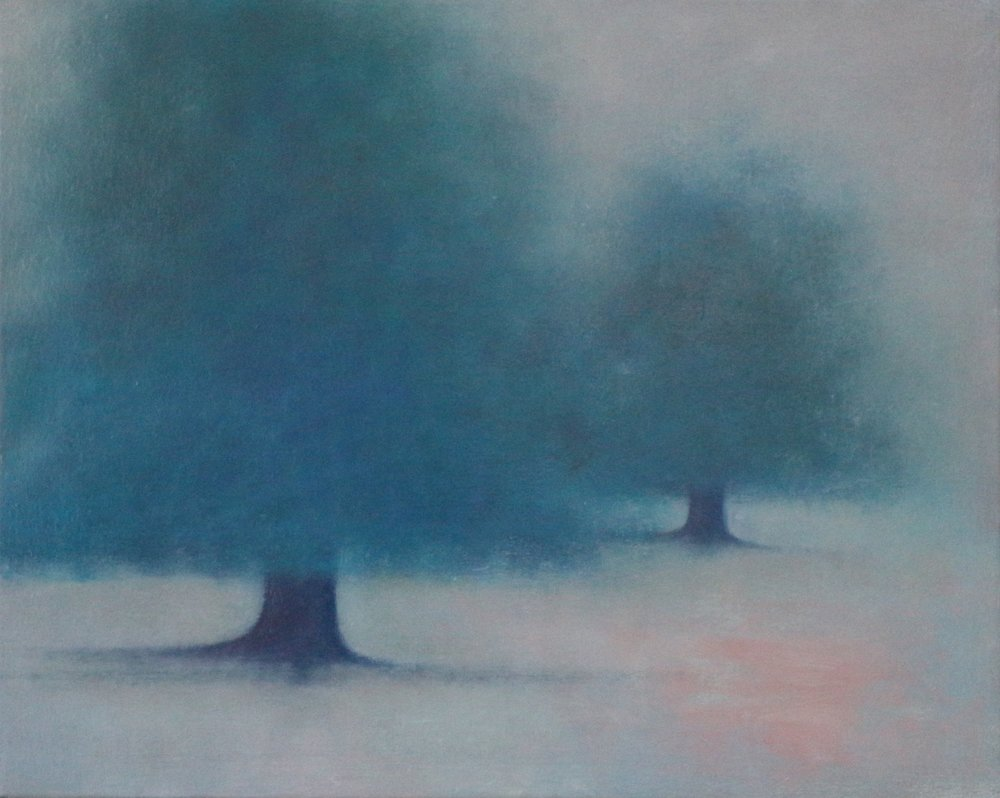 Title: Beclouded  Size: 40 x 50 cm  Medium: Oil on linen  Price: £1200