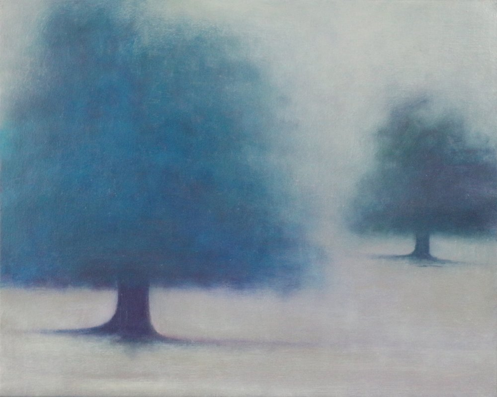 Title: Misted  Size: 40 x 50 cm  Medium: Oil on linen  Price: £1200