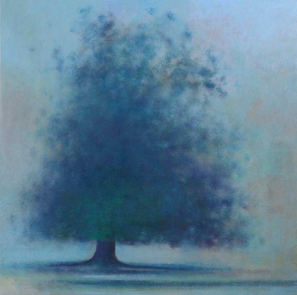 Title: First Light  Size: 75 x 75 cm  Medium: Oil on canvas  Price: £1800