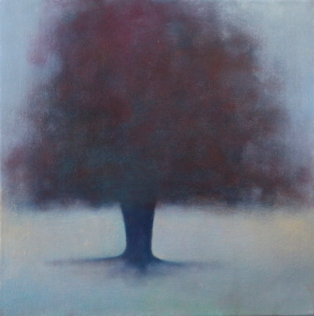 Title: Remembrance (II)  Size: 40 x 40 cm  Medium: Oil on canvas  Price: £680