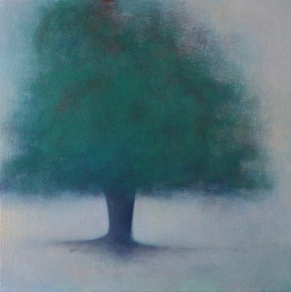 Title: Remembrance (III)  Size: 40 x 40 cm  Medium: Oil on canvas  Price: £680