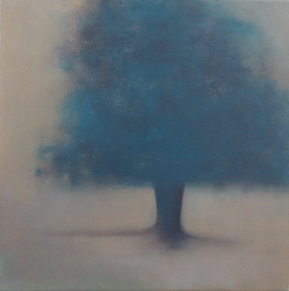 Title: Remembrance (I)  Size: 40 x 40 cm  Medium: Oil on canvas  Price: £680