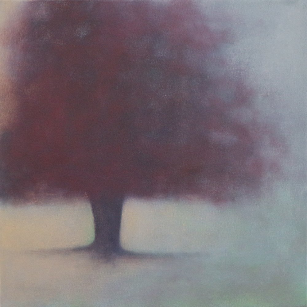 Title: Remembrance (IV)  Size: 40 x 40 cm  Medium: Oil on canvas  Price: £680