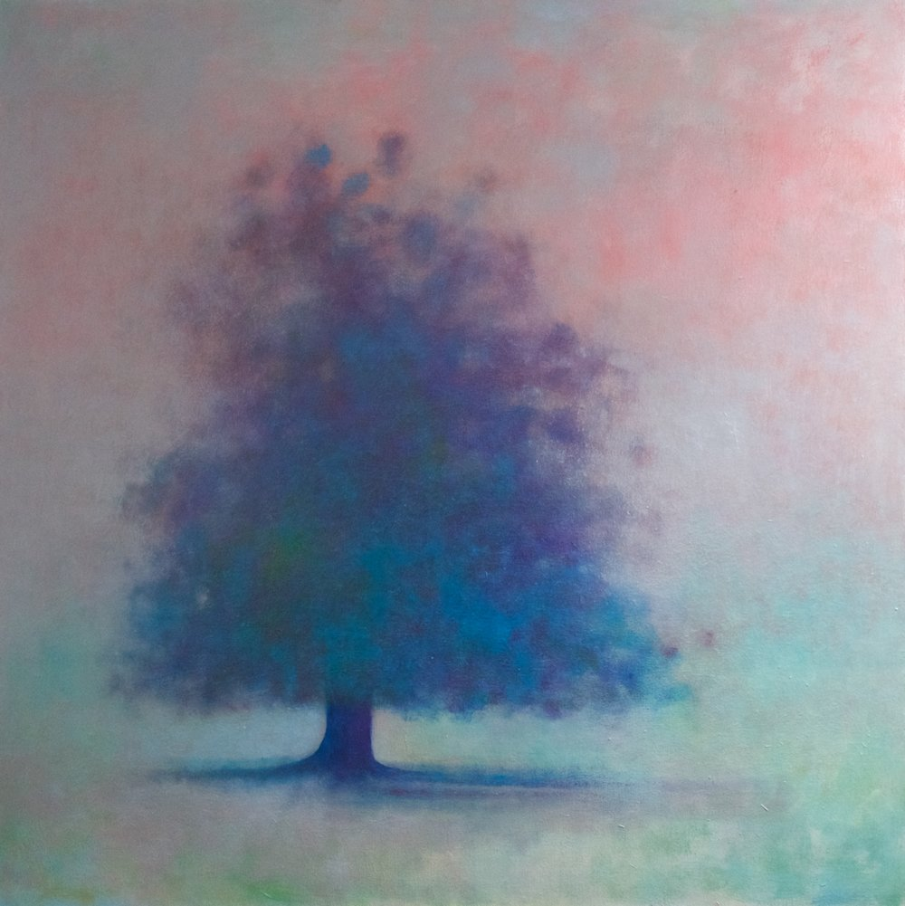 Title: Beautiful Tangle  Size: 100 x 100 cm  Medium: Oil on canvas  Price: £2650