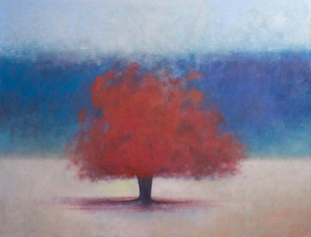Title: Gloam Size: 82 x 107 cm Medium: Oil on canvas Price: SOLD