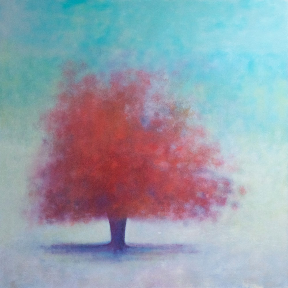 Title: Illumine Size: 92 x 92 cm Medium: Oil on canvas Price: SOLD