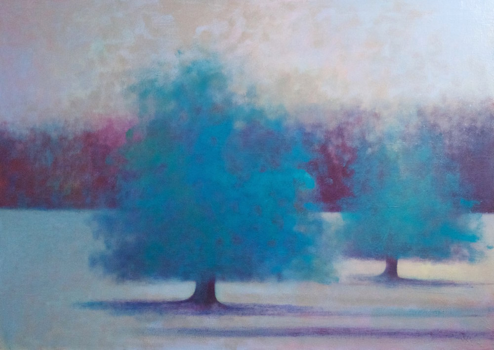 Title: Umbral Field Size: 86 x 122 cm Medium: Oil on canvas Price: £2800