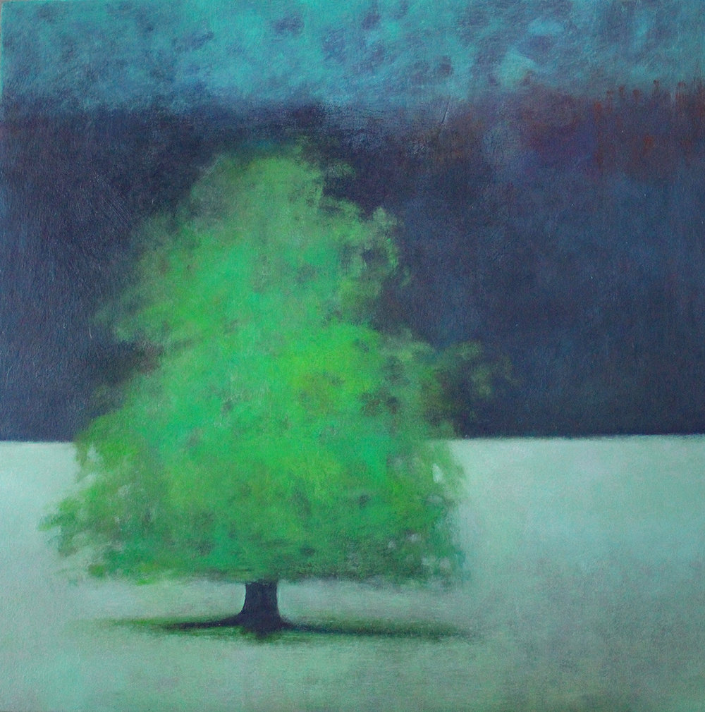 Title: And All is Quiet  Size: 60 x 60 cm  Medium: Oil on canvas  Price: £1250