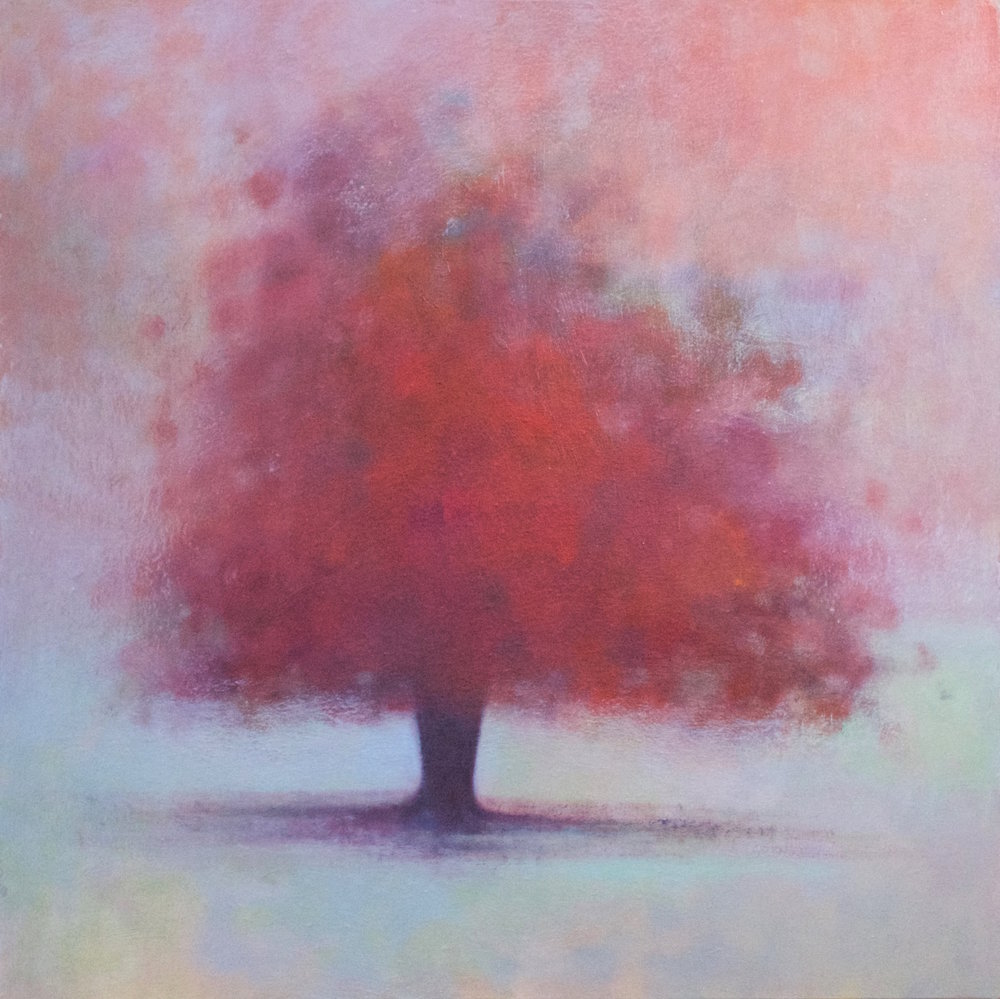 Title: Coming to Light Size: 76 x 76 cm Medium: Oil on canvas Price: £1800