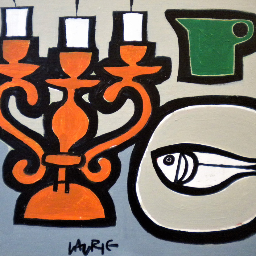 Green Jug with Fish 9x10inches £800 snippet for home page.jpg