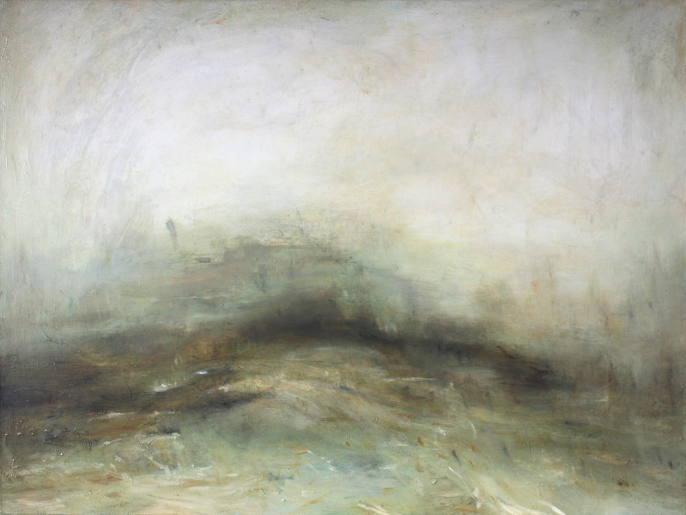 Artist: Mark Johnston  Title: Fading Into White Light  Size: 90 x 120 cm  Medium: Oil on canvas  Price: £7700