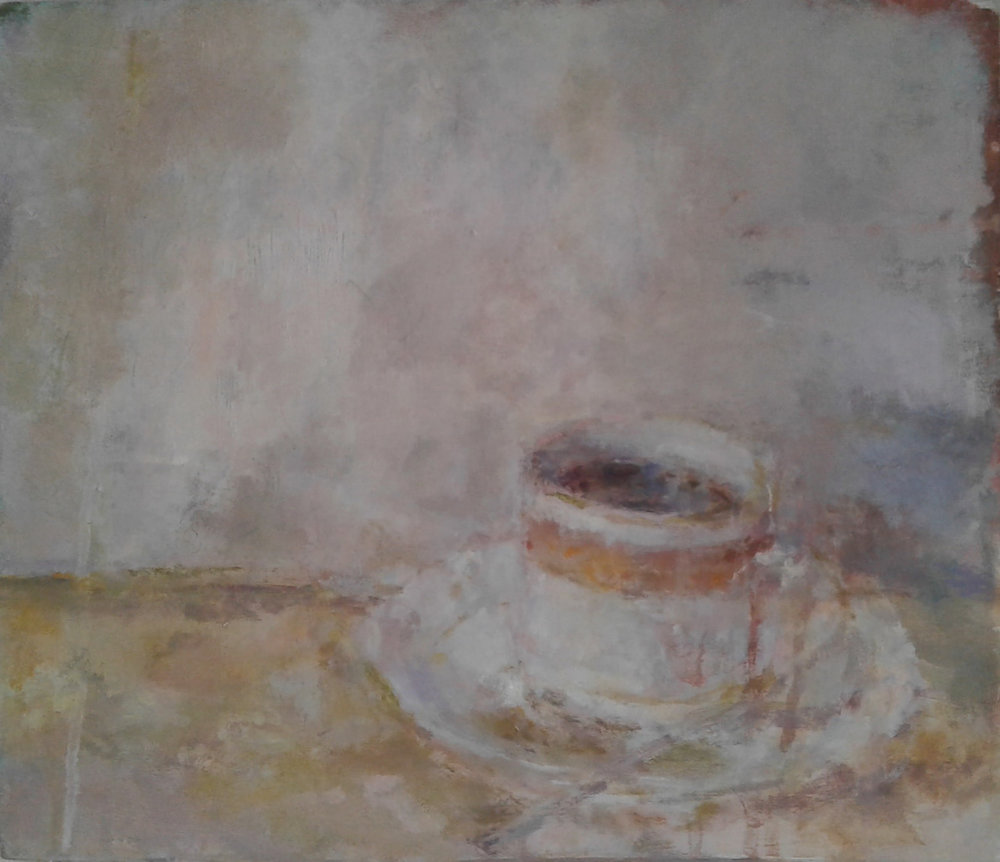 Artist: Anja Niedring  Title: A Cup  Size: 25 x 29 cm  Medium: Oil on panel  Price: £475