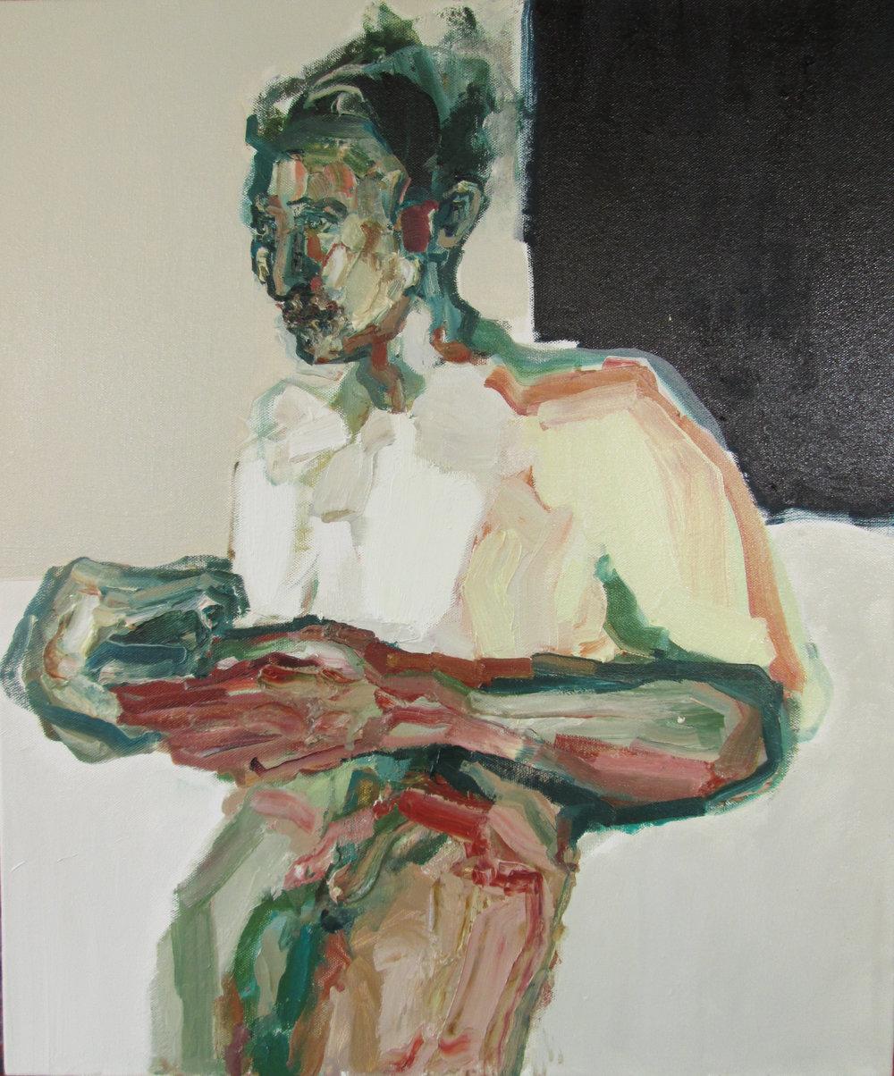 Title: In Transit  Size: 62 x 52 cm  Medium: Oil on canvas  Price: £1850