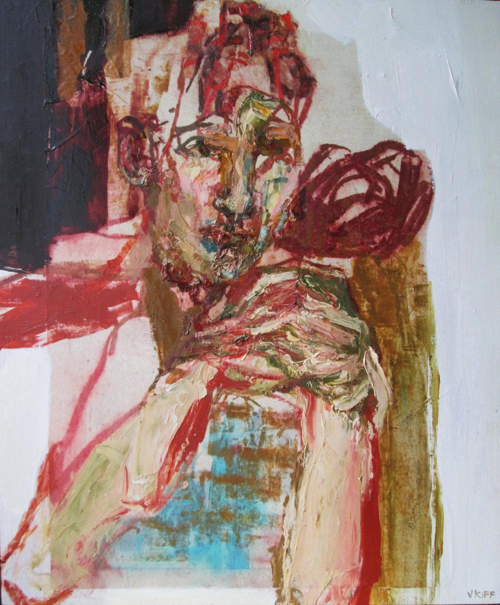Title: The Flesh Andira  Size: 86 x 74 cm  Medium: Oil on wood panel  Price £2500