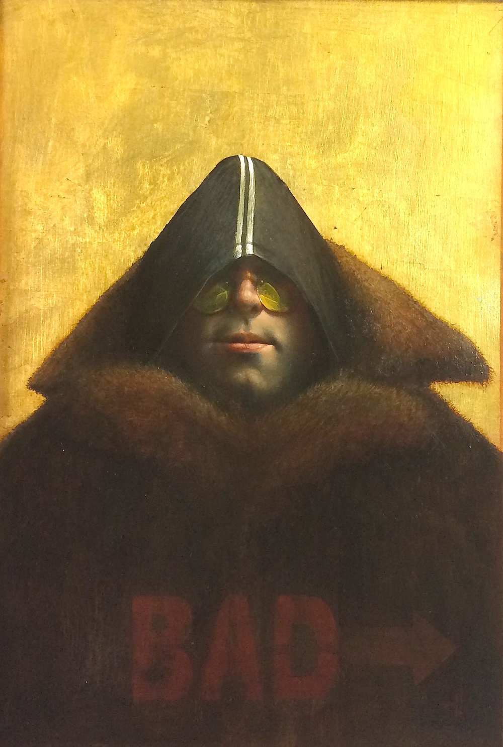 Title: Bad Boy  Size: 45 x 33.5 cm  Medium: Oil on panel  Price: £6,000