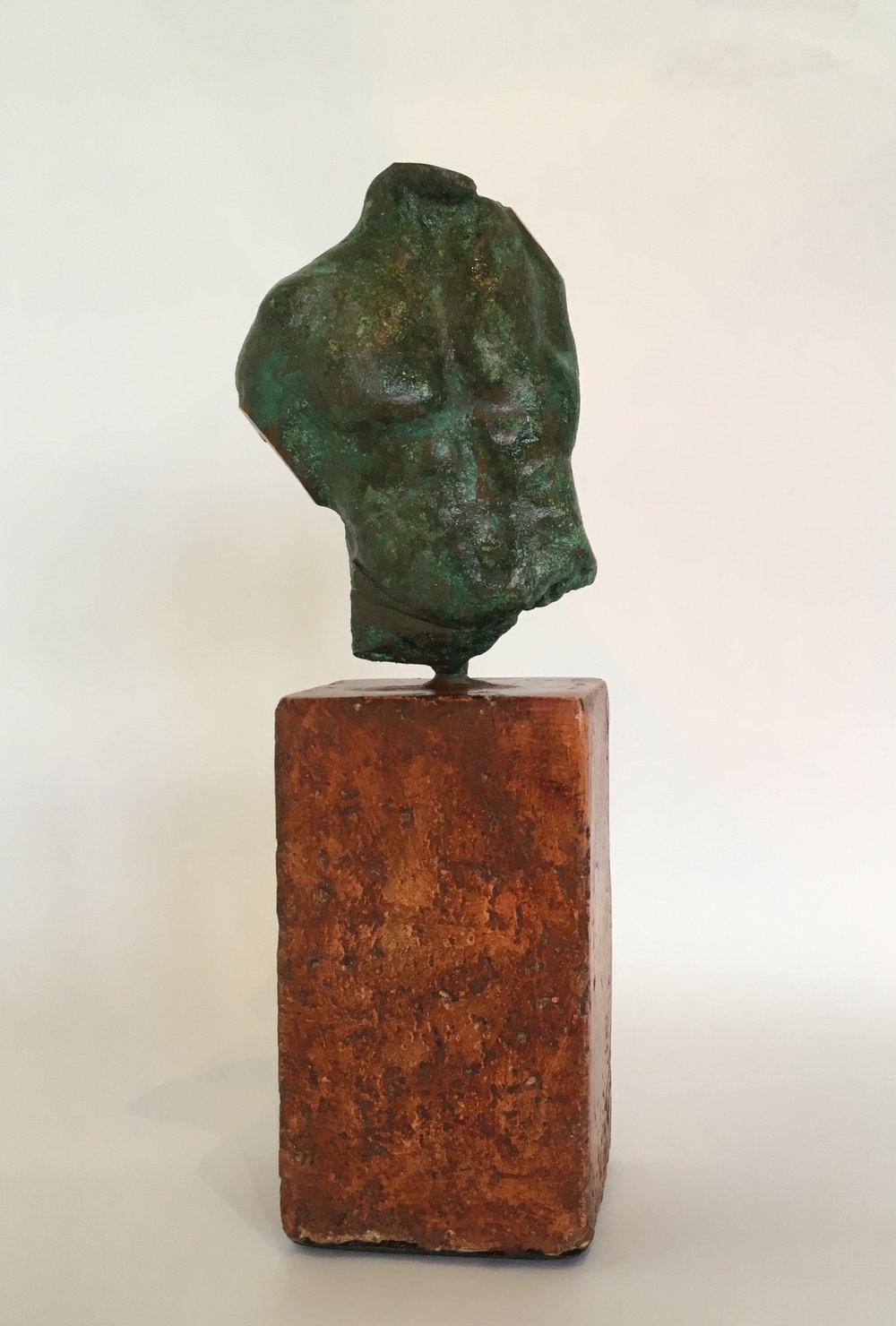 Title: Torso II  Size: H 25 cm  Medium: Bronze Edition 1/1  Price: £1500