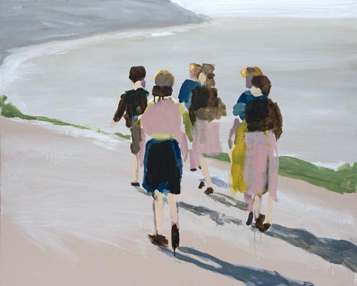 Artist: David Storey  Title: Into the Light  Size: 80 x 100 cm  Medium: Oil on canvas  SOLD